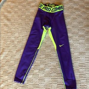 Nike compression tights